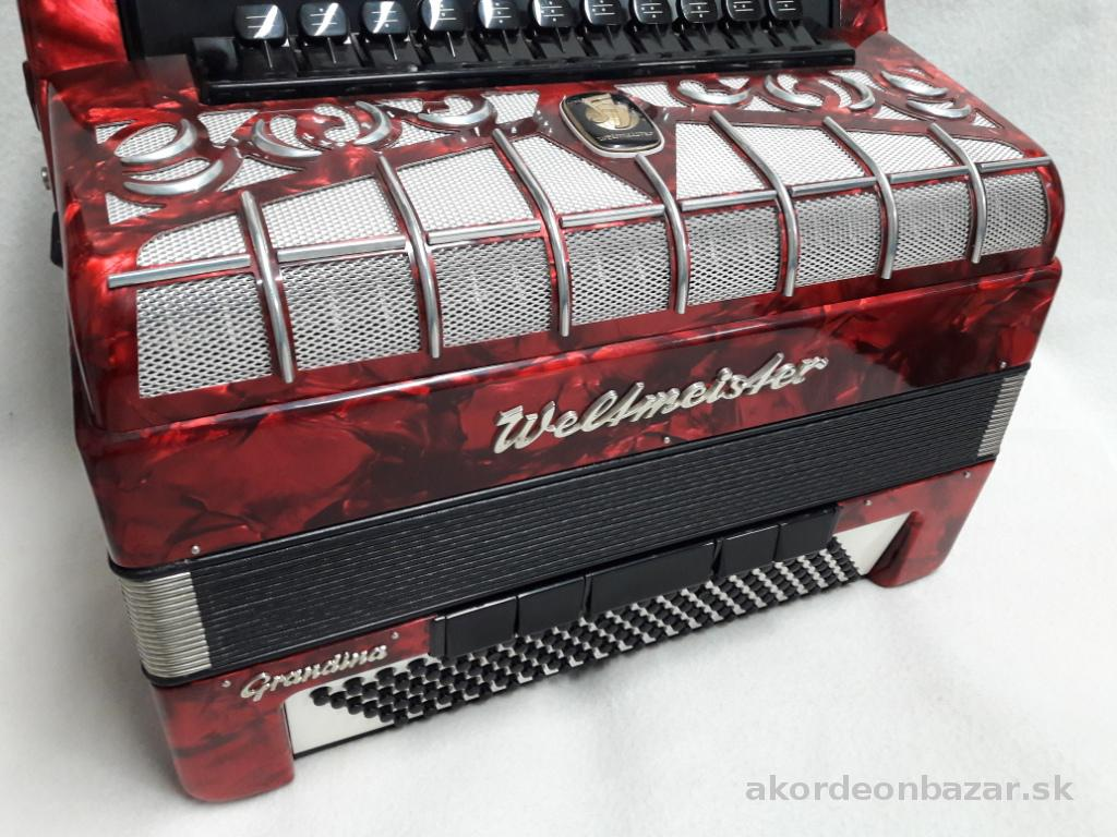 chromatic accordion Weltmeister Grandina 824, 96/120 bass